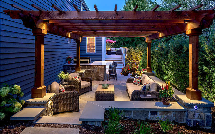 A Beautifully Designed Patio