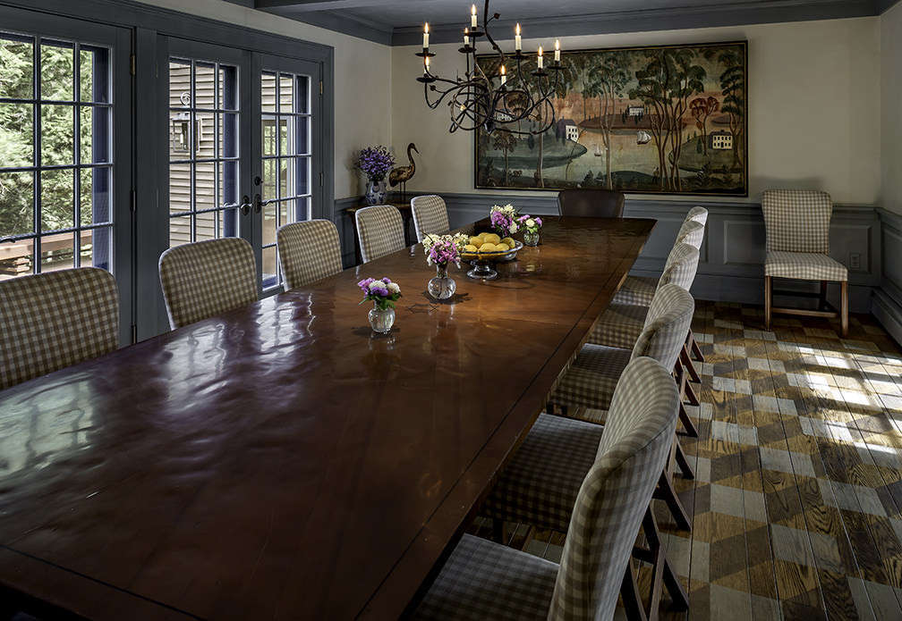 Vermont Home Dining Room