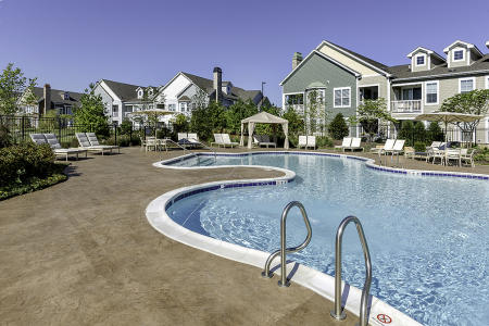 Pool in Condo Complex, Aurora, IL