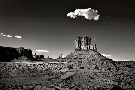 Hat of the Sister, Monument Valley AZ.